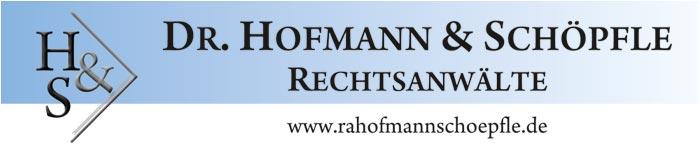 Kanzlei Dr. Hofmann & Schöpfle